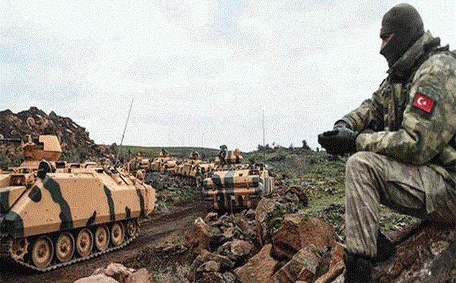 Thổ Nhĩ Kỳ đưa 2.000 xe quân sự vào miền Bắc Syria trong 12 ngày