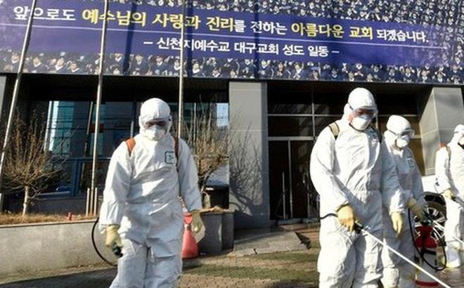 Virus corona tại Hàn Quốc: Hơn 1000 người từng đến nhà thờ cùng bệnh nhân 'siêu lây nhiễm', 90 xuất hiện triệu chứng, 396 'chưa liên lạc được'
