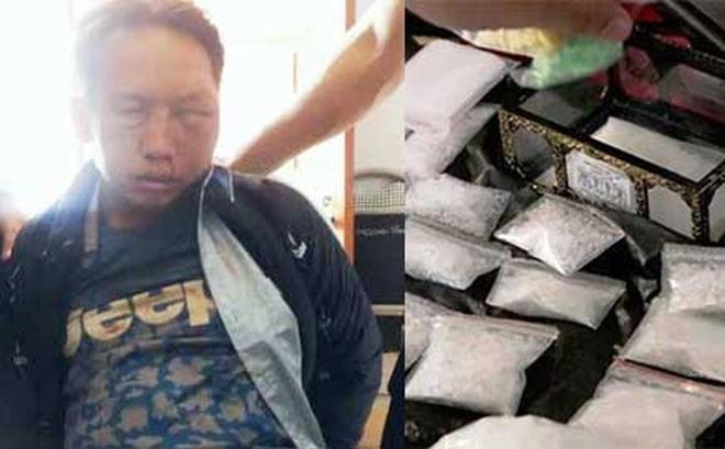 Tóm gọn trùm ma túy dùng dao nhọn chống trả cảnh sát