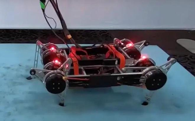 Các nhà khoa học Google tạo ra một con robot 4 chân có khả năng tự học đi mà không cần người giúp