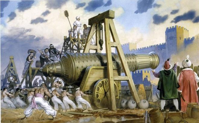 Đại bác khổng lồ Basilica – Vũ khí giúp đế chế Ottoman đánh bại Byzantine