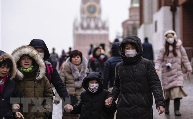 Thủ đô Nga áp dụng chế độ cảnh báo cao, tăng cường khử trùng