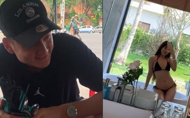 Thai League tạm hoãn dài ngày, Văn Lâm rủ Yến Xuân về Việt Nam: Chàng hớn hở vì được ăn ngon, nàng khoe ảnh mặc bikini cực nuột
