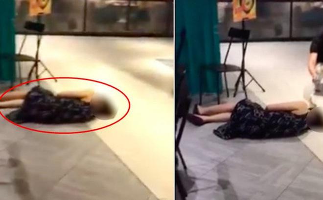 Đoạn clip người phụ nữ ngất xỉu ở trung tâm thương mại nhưng không ai đến giúp khiến dân mạng phẫn nộ và sự thật là gì?