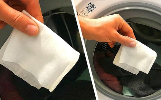 Công dụng tuyệt vời của việc bỏ khăn ướt vào máy giặt không phải bà nội trợ đảm nào cũng biết