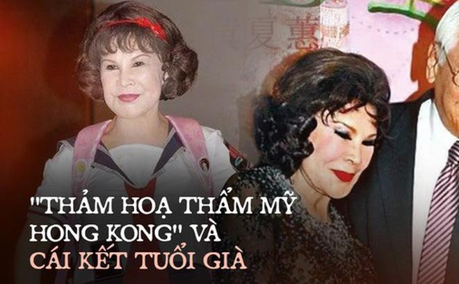 """""""Thảm họa thẩm mỹ Hong Kong"""" Hoàng Hạ Huệ: Cả đời chiêu trò, dao kéo níu kéo đại gia và cái kết bất ngờ tuổi xế chiều"""