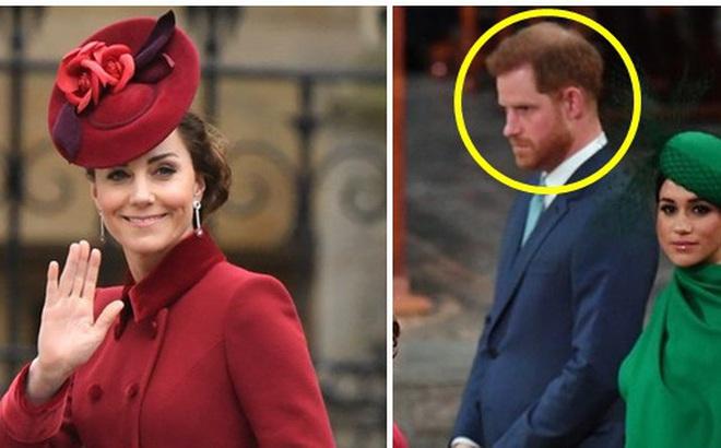 Tiết lộ cuộc nói chuyện riêng kìm nén nước mắt giữa Công nương Kate với em chồng Harry trong buổi chia tay, Meghan Markle không hề được nhắc đến