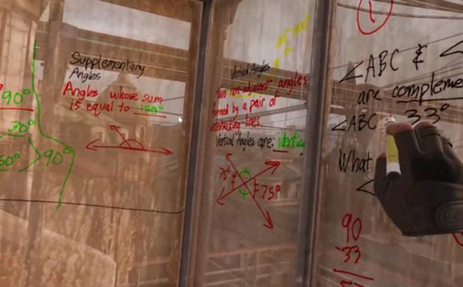 Thầy giáo của năm: Giảng dạy môn toán hình học bằng game thực tế ảo Half-Life: Alyx cho trực quan