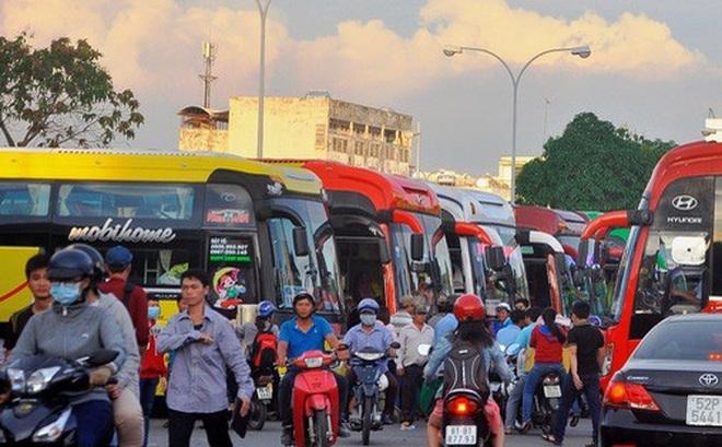 TP HCM ngưng hoạt động 54 tuyến xe buýt trong 19 ngày