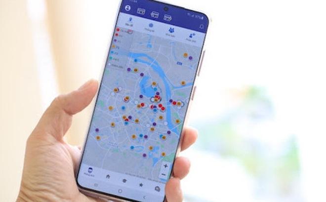 Người dân có thể sử dụng ứng dụng Hà Nội Smart City để đăng ký xét nghiệm nhanh Covid-19
