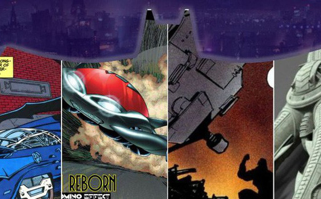 10 thiết kế xe Batmobile quái gở nhất, có chiếc dị đến nỗi Batman chưa dám mang ra đường lần nào
