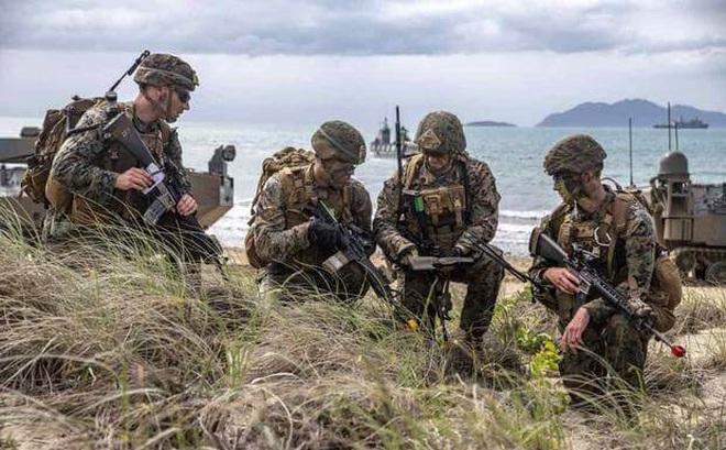 Mỹ lập trung đoàn viễn chinh thủy quân lục chiến mới, cử đến Châu Á - Thái Bình Dương