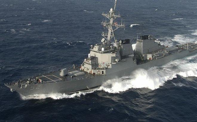 Tàu chiến Mỹ đi qua eo biển Đài Loan cùng ngày Trung Quốc tập trận