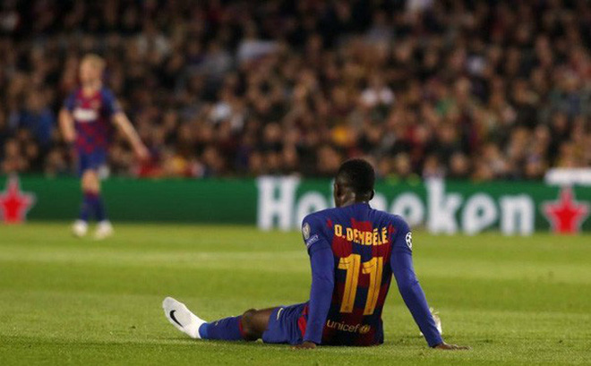 Barcelona gặp khó trong việc bán Ousmane Dembele