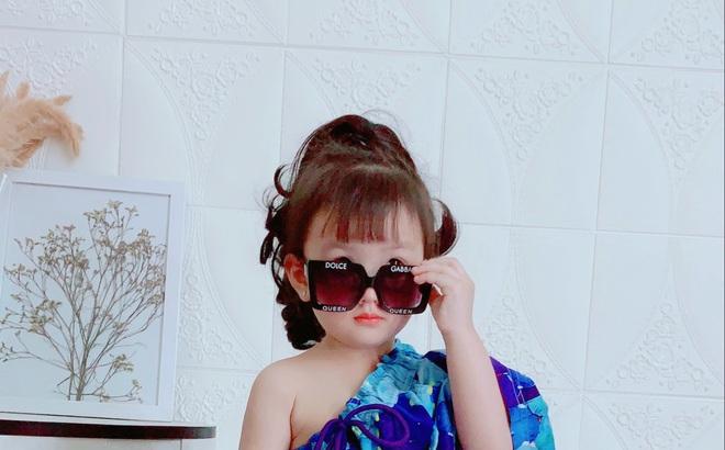 """Ở nhà quá chán, hot mom Hà Nội nảy ra ý định lấy quần đùi của chồng cosplay cho con gái 2 tuổi, không ngờ """"ra lò"""" bộ ảnh đẹp như tạp chí"""