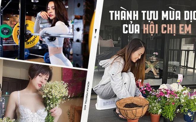 """Hội chị em khoe """"thành tựu"""" sau 2 tuần ở nhà tránh dịch: Người trở thành ngôi sao Youtube bụng có múi, người thành nữ doanh nhân hốt bạc nhờ nấu ăn"""