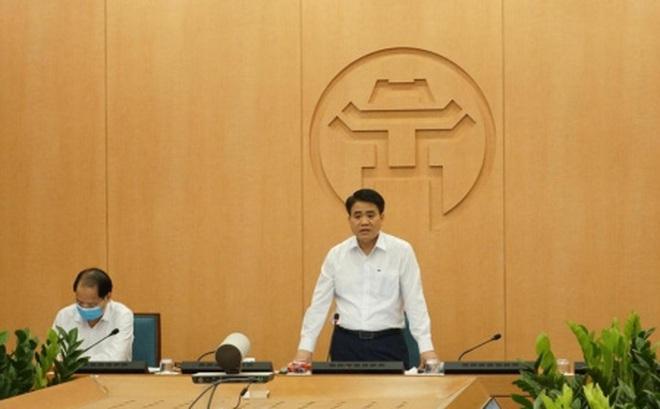 Chủ tịch UBND TP Hà Nội: Các biện pháp phòng, chống dịch phải trở thành thói quen, nếp sống với tất cả mọi người