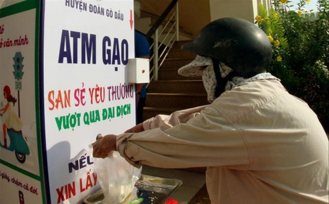 ATM gạo mang thương hiệu tuổi trẻ Tây Ninh