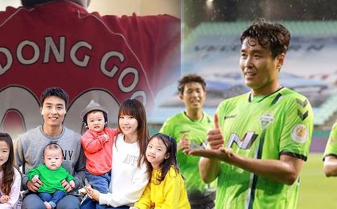 """Giải VĐQG Hàn Quốc trở lại, mạnh dạn phát sóng toàn cầu và phản ứng bất ngờ từ fan quốc tế khi ông bố nổi tiếng của """"The Return Of Superman"""" ghi bàn"""