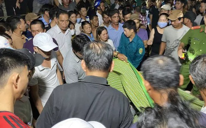 Lật thuyền ở Quảng Nam: Đã tìm được cả 5 thi thể