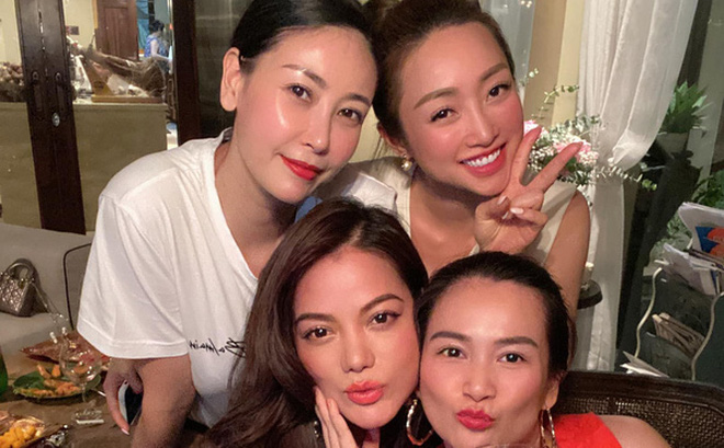 Hội bạn thân U40 showbiz lâu ngày tụ họp: Hà Kiều Anh đọ sắc Trương Ngọc Ánh, diện mạo trẻ trung của bạn gái Chi Bảo gây chú ý