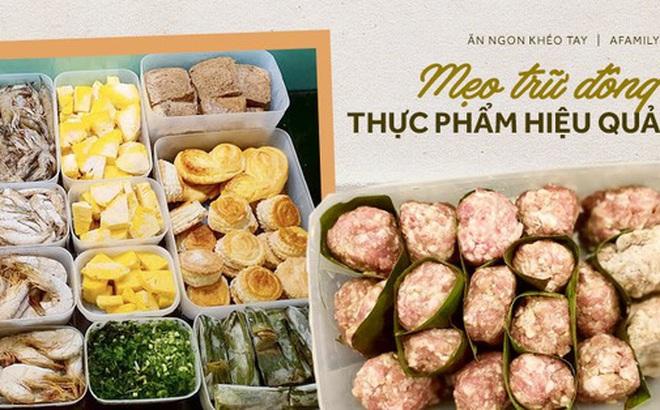 Mẹ 9x chia sẻ cách trữ đông thực phẩm không bị dính thành tảng cực dễ làm