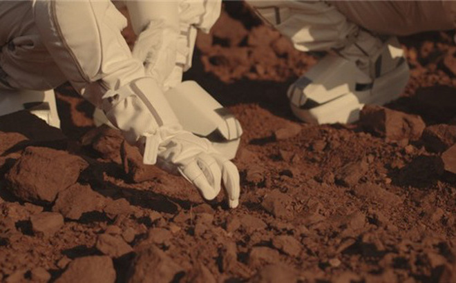 Xem mẫu vật sao Hỏa như virus