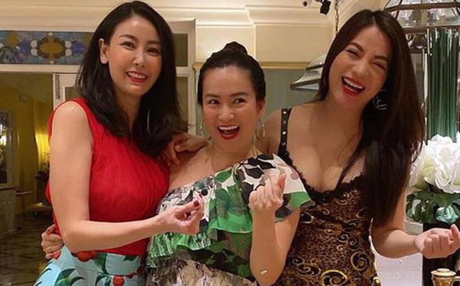 Hội bạn thân Trương Ngọc Ánh, bà xã Bình Minh tụ họp trong sinh nhật Hà Kiều Anh: tuổi 40 vẫn quyến rũ, đọ sắc khi chung khung hình