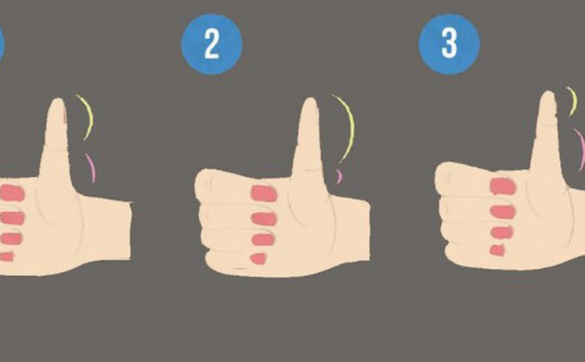 Độ dài 2 đốt tay trên ngón cái tiết lộ bạn là người sống lý trí hay dễ bị lợi dụng và tính cách của bạn trong tình cảm