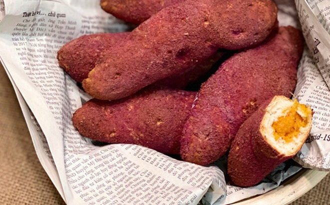 Nhìn qua ai cũng tưởng khoai lang nhưng hóa ra lại là món bánh mì thơm ngon bất ngờ và cách làm thì cực dễ