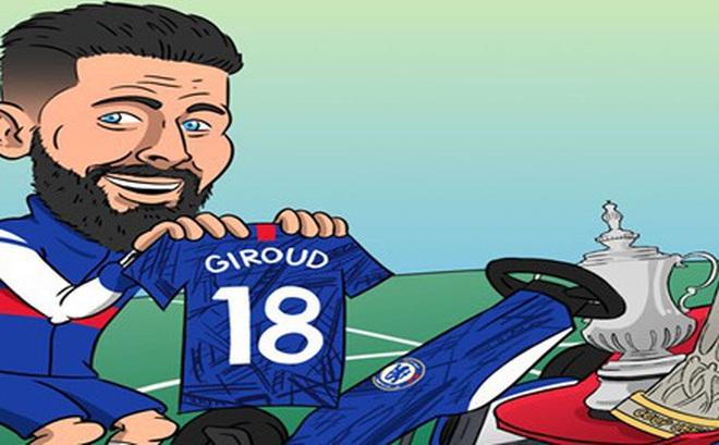 """Biếm họa 24h: Chelsea nhanh tay trói chân """"gà son"""" Olivier Giroud"""