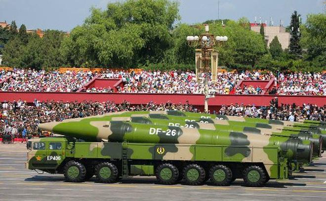 Điểm đặc biệt của tên lửa đạn đạo DF-26 Trung Quốc