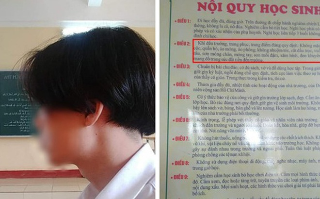 Xôn xao nam sinh Hải Phòng bị đình chỉ học vì để tóc dài: Đại diện nhà trường lên tiếng đầy bất ngờ