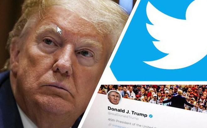 Bị Twitter dán nhãn thông tin thiếu xác thực, Tổng thống Trump dọa sẽ đóng cửa các công ty truyền thông xã hội