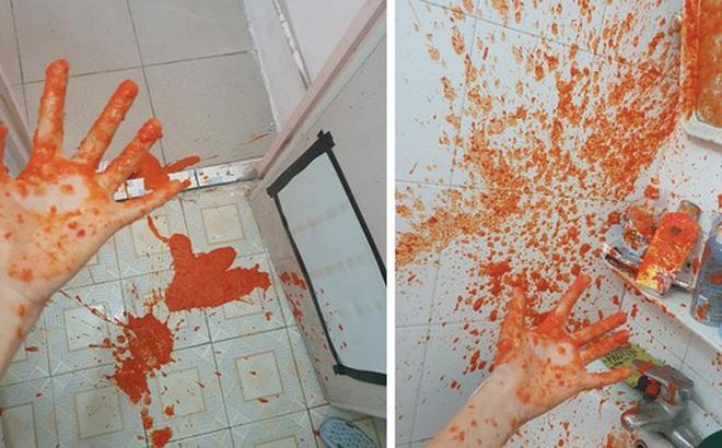 Hí hửng mua được lọ tương ớt đặc sản ở Sa Pa về, cô gái không ngờ vì tạo ra 'vụ nổ' như hiện trường... án mạng