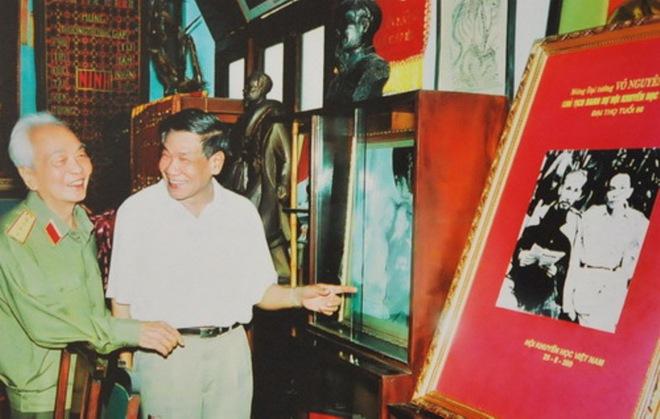 Những bức ảnh về gia đình Đại tướng Võ Nguyên Giáp