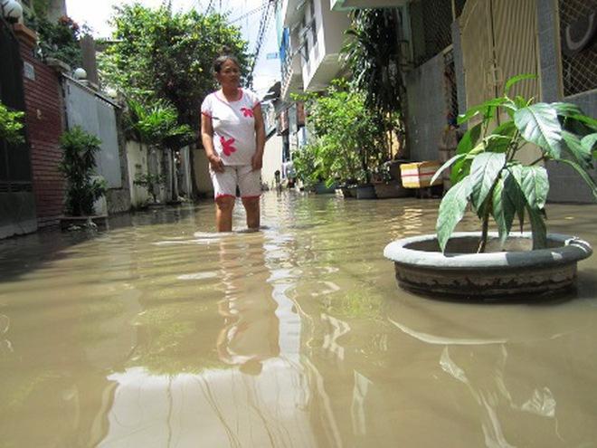 TPHCM: Công trình chống ngập gây ngập nặng