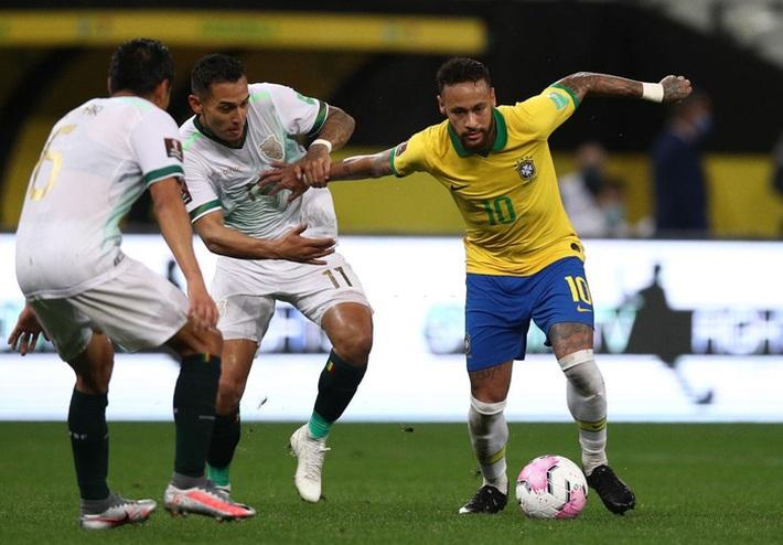 Neymar đóng vai kép phụ, tuyển Brazil thắng tưng bừng 5 sao ở trận ra quân vòng loại World Cup - Ảnh 4.