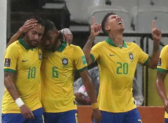 Neymar đóng vai kép phụ, tuyển Brazil thắng tưng bừng 5 sao ở trận ra quân vòng loại World Cup - Ảnh 5.