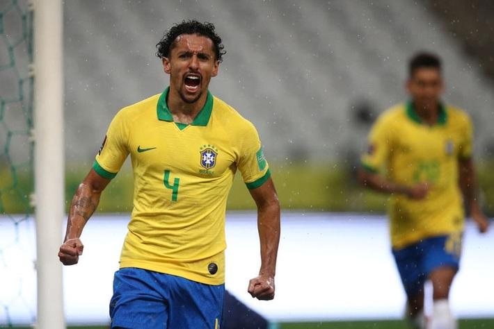 Neymar đóng vai kép phụ, tuyển Brazil thắng tưng bừng 5 sao ở trận ra quân vòng loại World Cup - Ảnh 7.