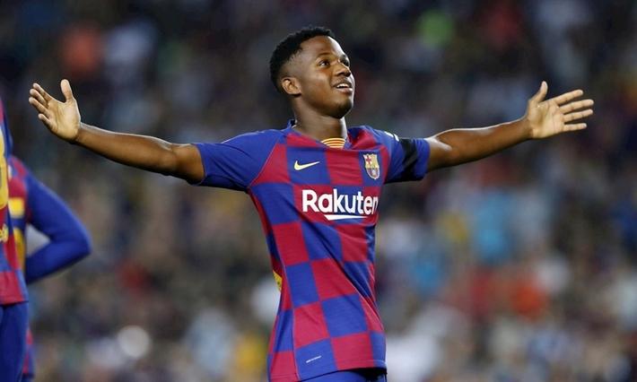 Vượt mặt Messi, sao trẻ Barca xuất sắc nhất La Liga tháng 9 - Ảnh 1.