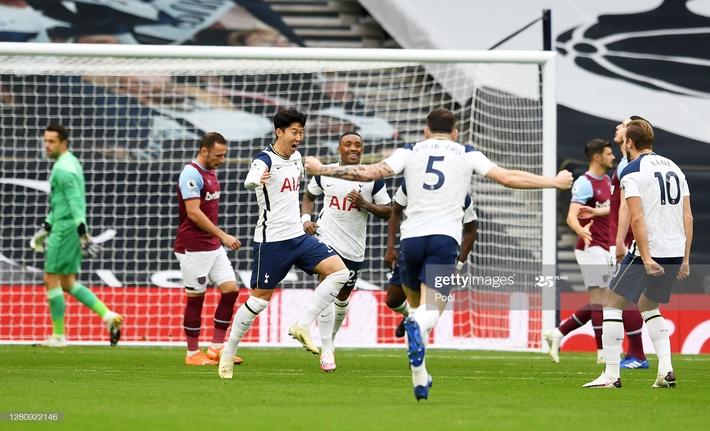Mourinho tái mặt xem đồng hồ, Tottenham dẫn 3-0 nhưng vẫn ôm hận đúng phút cuối cùng - Ảnh 1.