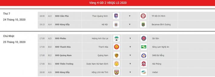 Vòng 4 giai đoạn 2 V-League 2020: Vừa đá vừa lo… trọng tài - Ảnh 3.