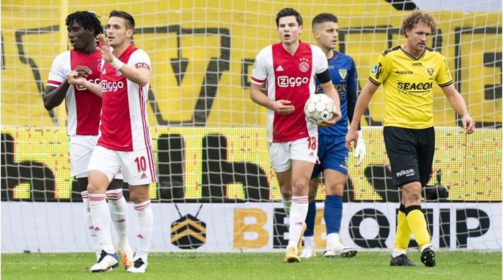 Hủy diệt đối thủ ở giải Hà Lan bằng tỷ số không thể tin nổi, Ajax lập kỷ lục châu Âu - Ảnh 1.