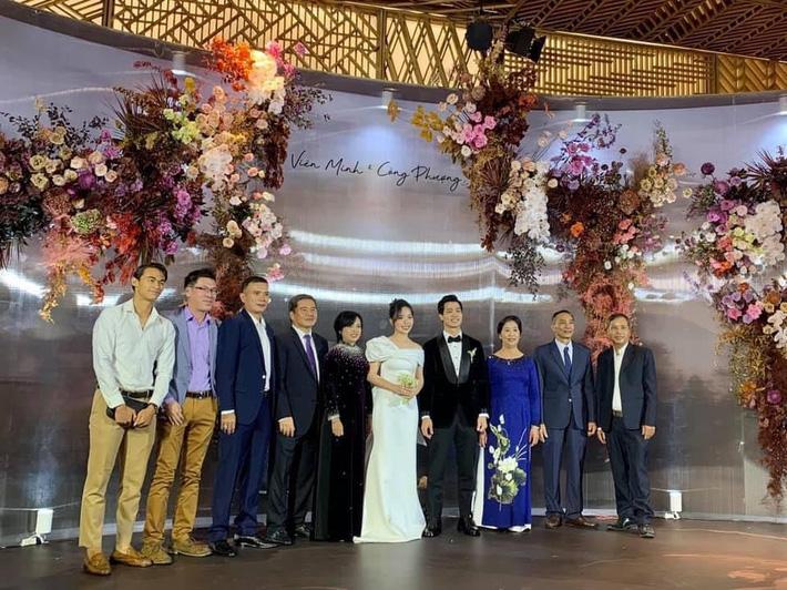 Đám cưới Công Phượng - Viên Minh: HLV Park Hang-seo rạng rỡ ở đám cưới của học trò - Ảnh 6.