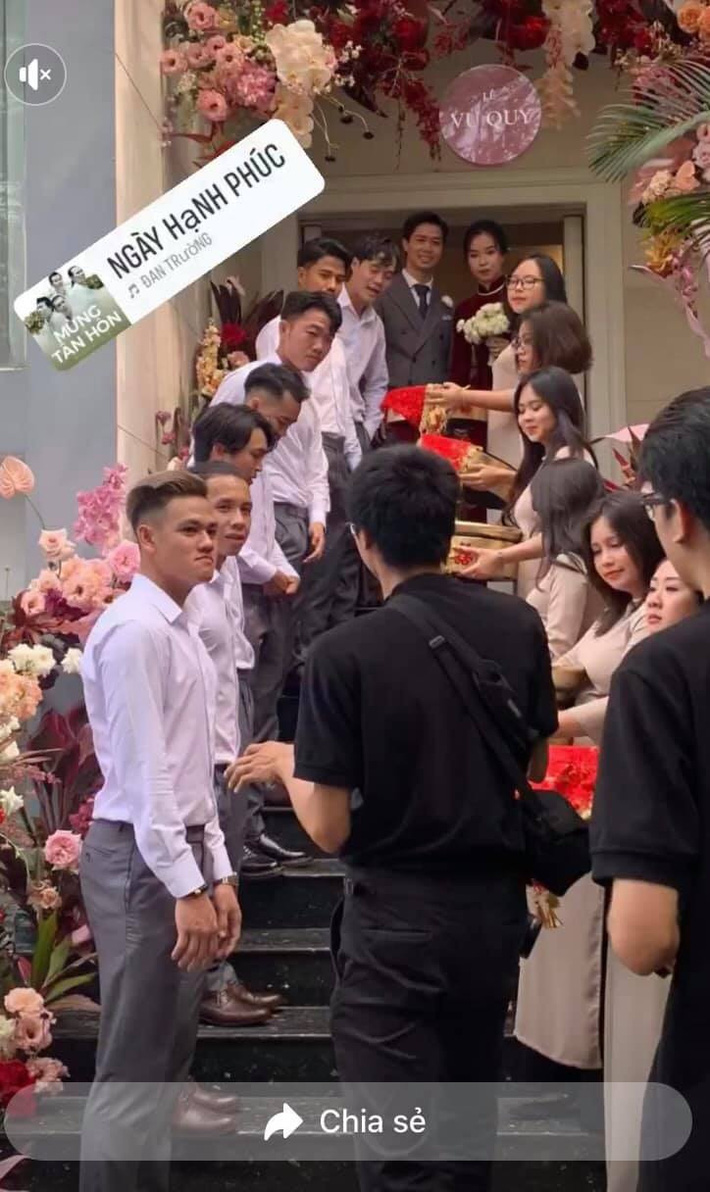 Đám cưới Công Phượng - Viên Minh: HLV Park Hang-seo rạng rỡ ở đám cưới của học trò - Ảnh 24.