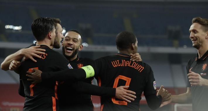 Cựu sao MU tỏa sáng, Hà Lan vẫn lỡ vé vào bán kết Nations League - Ảnh 1.