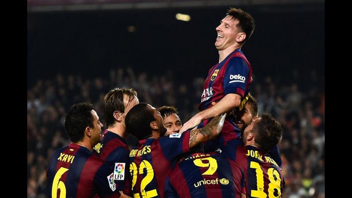 Ngày này năm xưa: Messi chính thức trở thành chân sút vĩ đại nhất lịch sử La Liga - Ảnh 1.