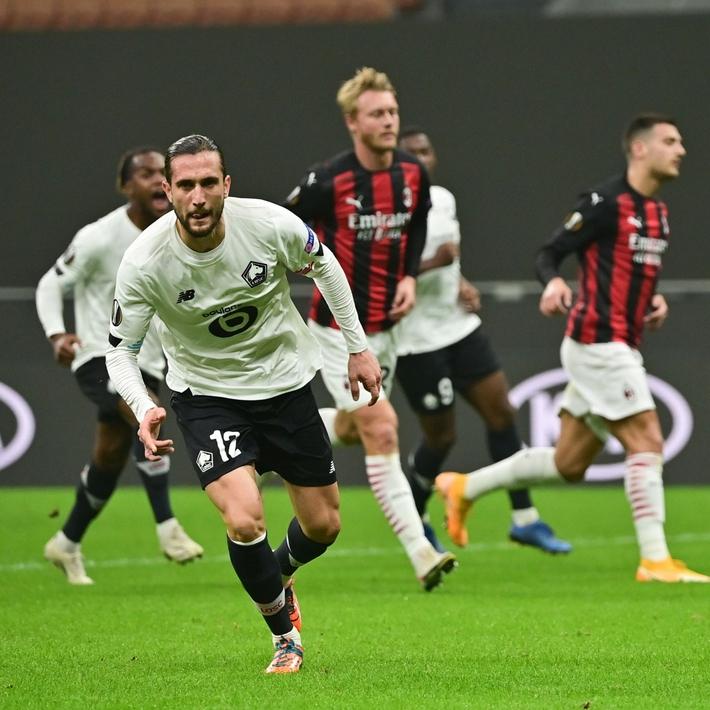 AC Milan thua sốc Lille, Arsenal và Tottenham thắng đậm ở Europa League - Ảnh 1.