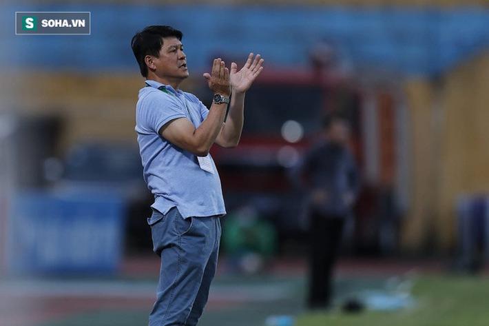 HLV Vũ Tiến Thành: Sài Gòn FC không dính dáng tới Hà Nội FC để phải hỗ trợ họ - Ảnh 1.